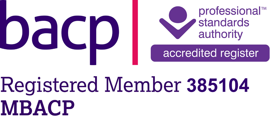 BACP Registered Member 385104 - MBACP (Accred)